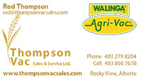 Thompson Vac – Business Card